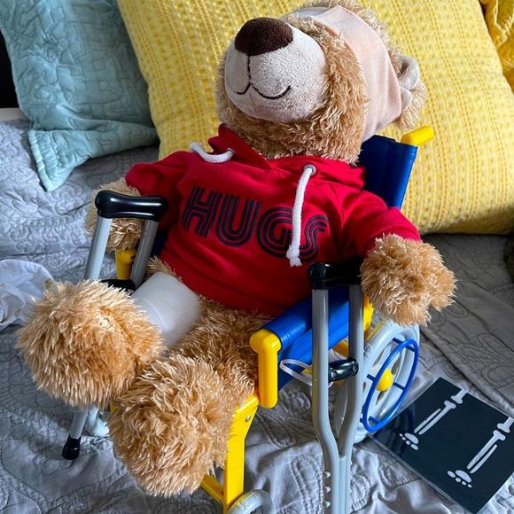 build a bear skateboard wheelchair crutches