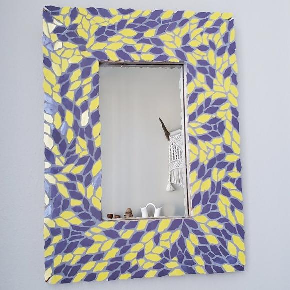 17x12 75 mosaic tile mirror handmade mirror