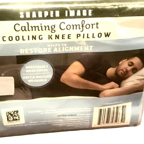 sharper image cooling knee pillow