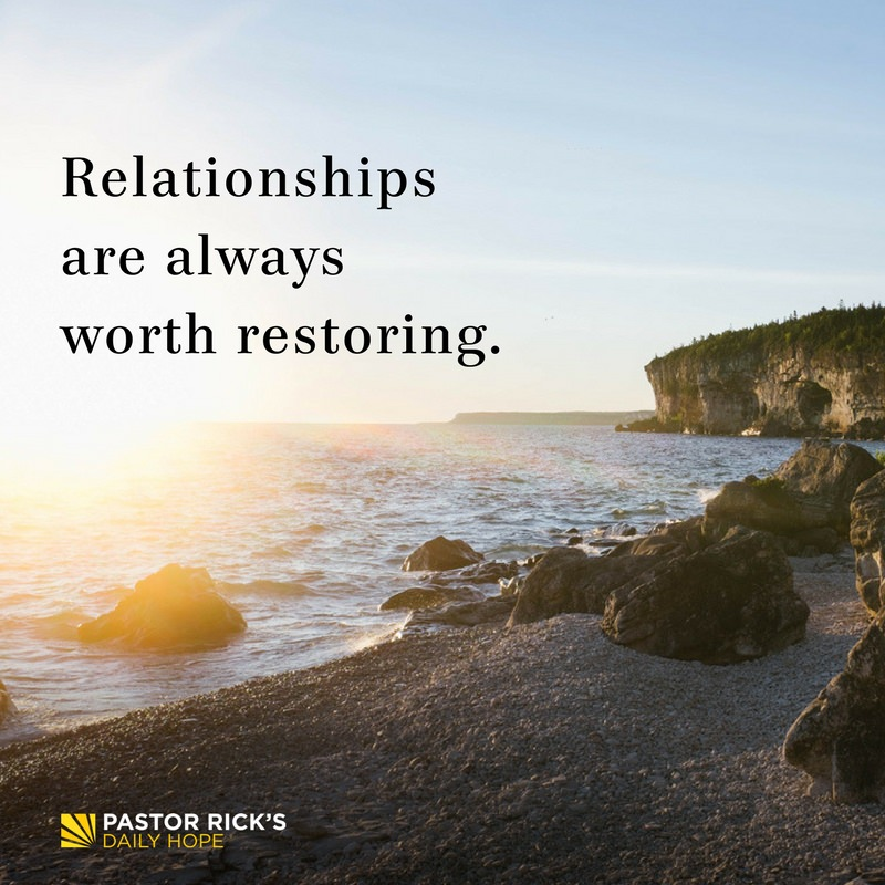 "You Make Me Crazy"" Talks on Restoring Relationships by"