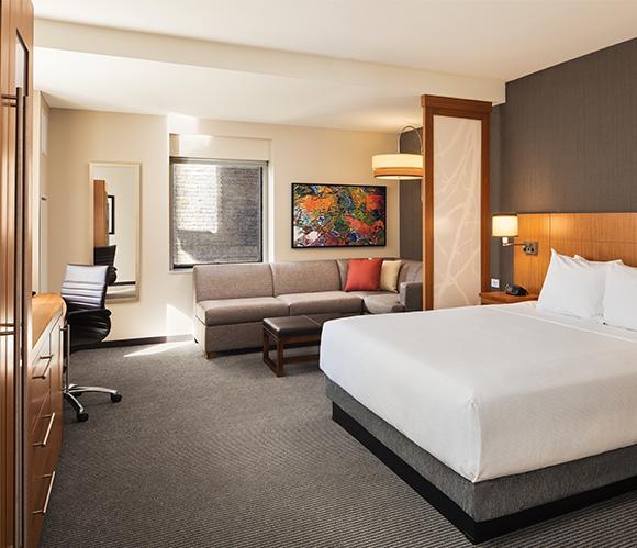 Hyatt Place - king room
