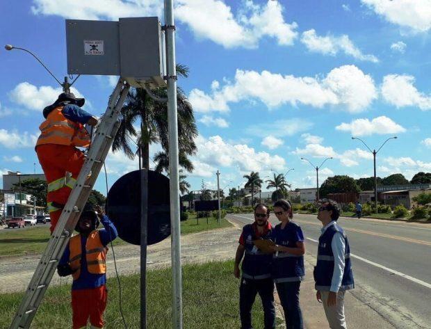 Dezessete radares situados no Sul do estado serão vistoriados a partir desta segunda