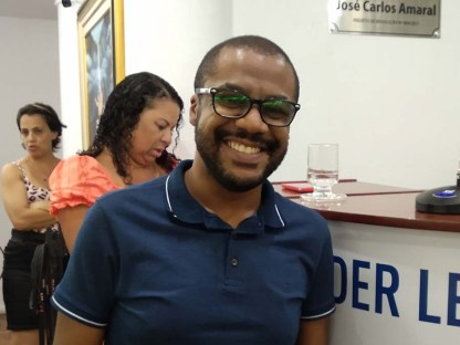 Leandro Vieira das Neves. Crédito: Alessandro de Paula
