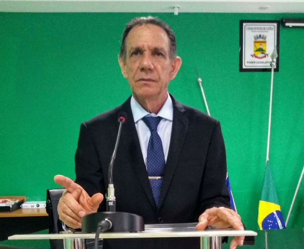 Presidente da Câmara aguarda notificação para assumir a Prefeitura de Castelo