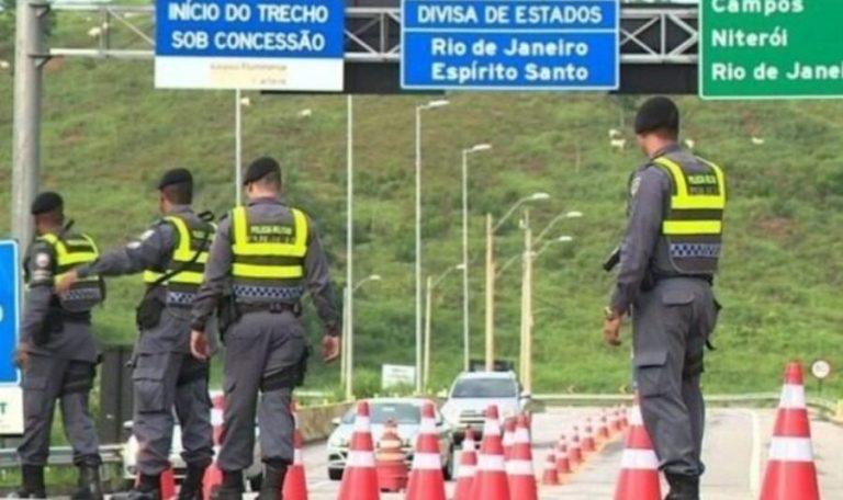 PM faz operação contra o crime nas divisas com Rio e Minas