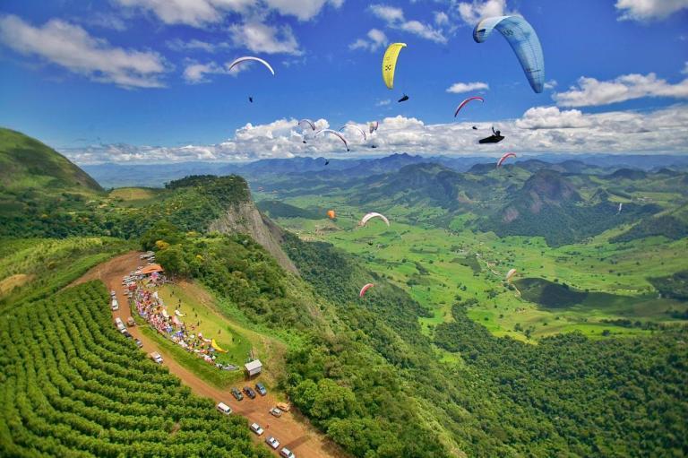 Etapa mundial de voo livre é cancelada em Castelo