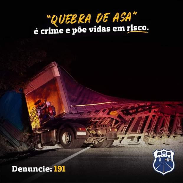 Policiais rodoviários alertam para manobra perigosa após flagrantes em Cachoeiro