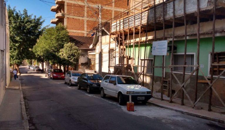 Rua Anna Machado ficará interditada neste sábado pela manhã