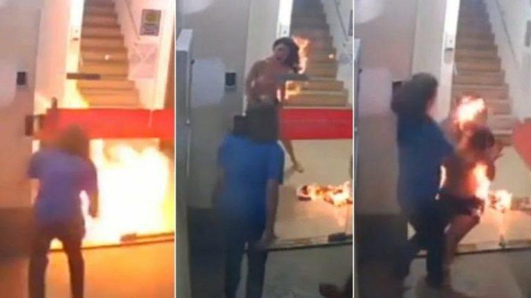 Delegada conclui que não houve crime no caso da modelo incendiada na Serra