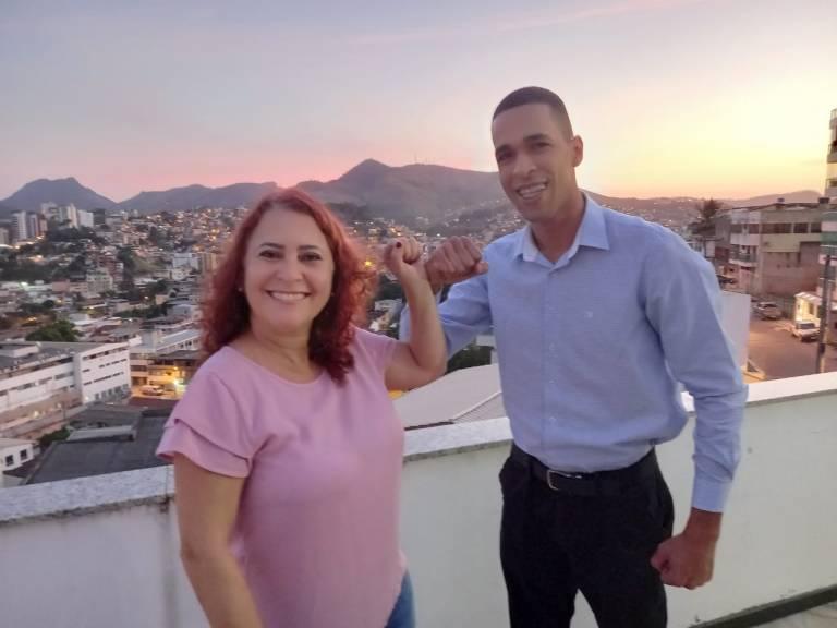 PT confirma Joana D'Arck para prefeita e capitão Souza como vice