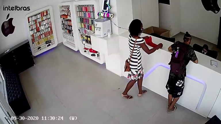 VÍDEOS: polícia identifica casal que ataca no comércio de Cachoeiro