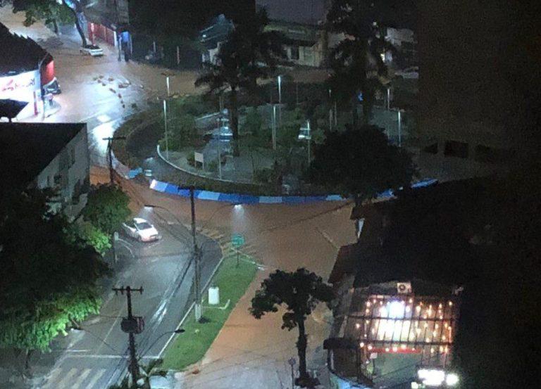 Cachoeiro registra 80,90 mm de acumulado de chuva nas últimas 24 horas