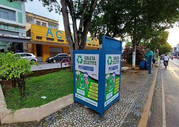 Novos pontos de coleta de entrega voluntária são instalados em Guaçuí