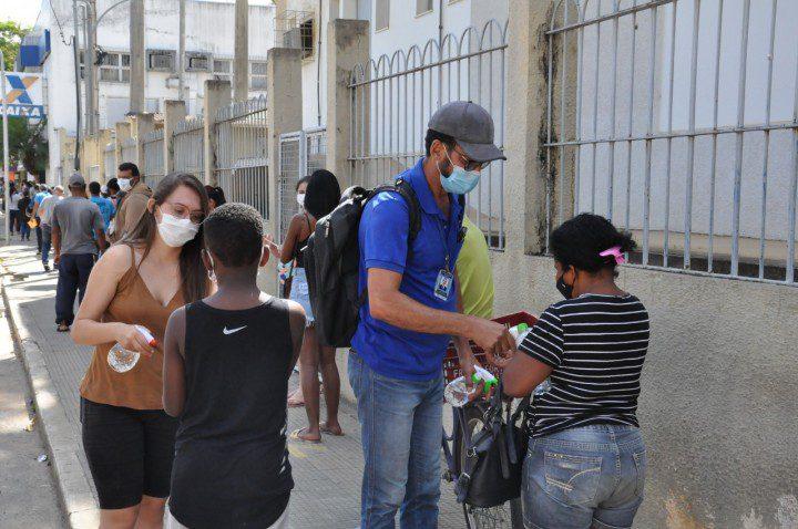 Em Risco Alto, Guaçuí segue com as ações de enfrentamento à Covid nas ruas