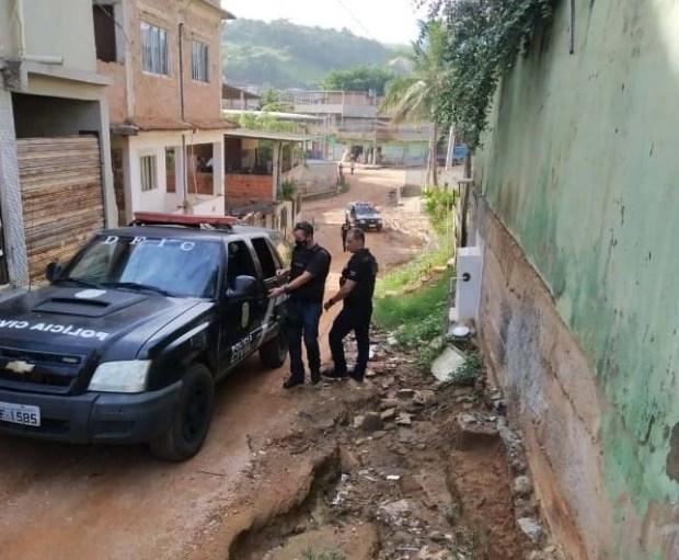 Operação em Cachoeiro prende condenados por estupro e roubo