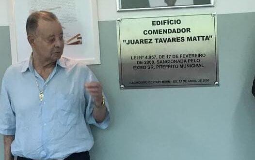 Lideranças e amigos lamentam a morte de Juarez Tavares Matta