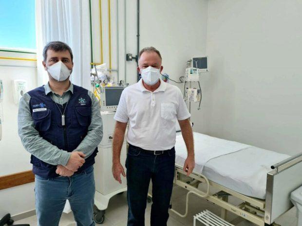 Hospital Menino Jesus, em Itapemirim, abre 10 novos leitos de UTI para covid