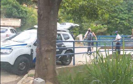 Suspeito de roubo dá trabalho para a polícia, mas acaba sendo preso em Muqui