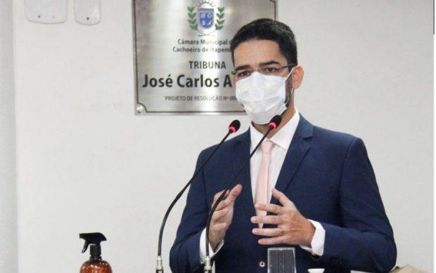 Victor Coelho presta contas nesta sexta-feira (9) na Câmara de Cachoeiro