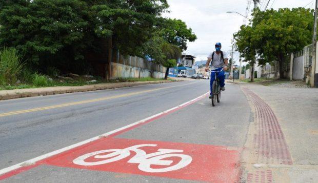 Rodovia do Valão ganha mais de 1,6 mil metros de ciclofaixa