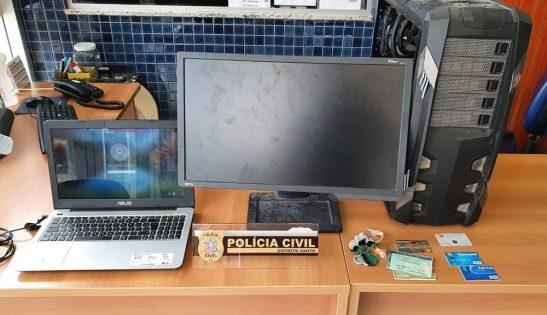 Polícia prende jovem em Cariacica por golpes com cartões de crédito no Sul