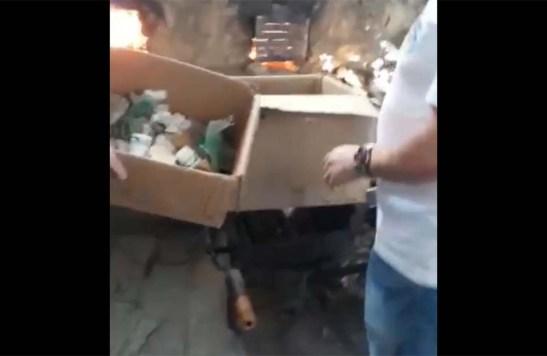 Polícia Civil incinera 9 quilos de drogas em fornalha no Caparaó
