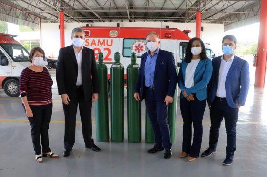 Estado recebe doação de oxigênio para enfrentamento à Covid-19