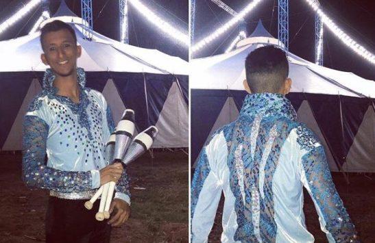 Cachoeirense fica em segundo lugar em festival capixaba de arte circense