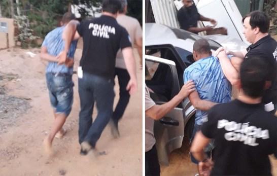 Polícia prende em Cachoeiro acusado de matar mulher em Mimoso do Sul
