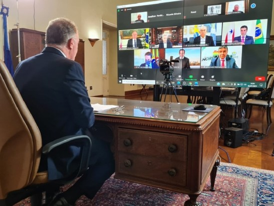 Governador participa de reunião sobre o clima com enviado especial dos EUA