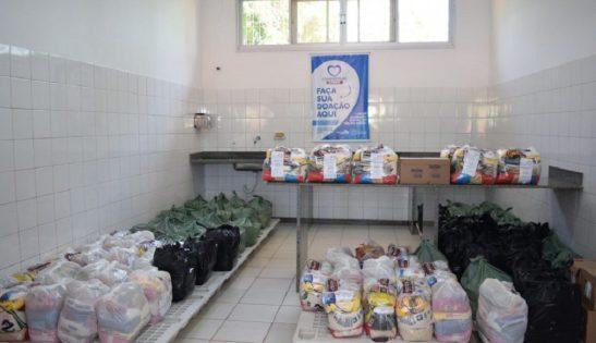 Campanha da Prefeitura arrecada duas toneladas de alimentos