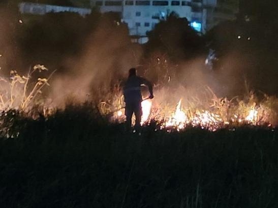 Incêndio em vegetação aumenta quase seis vezes no Sul do ES e preocupa