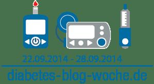 Diabetes Blog Woche 2014 Logo