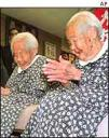 Longest-lived twins, ever, Gin and Kin Narita at 107 years old. photo:http://news.bbc.co.uk
