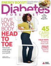 April 2014 Cover of Diabetes Forecast Magazine