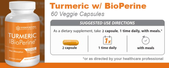 Turmeric With Bioperine scam