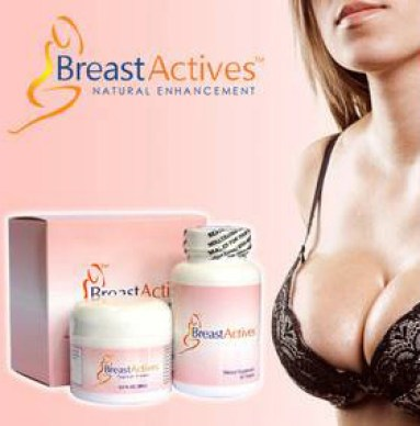 Breast Actives Topical Cream & Dietary Supplement