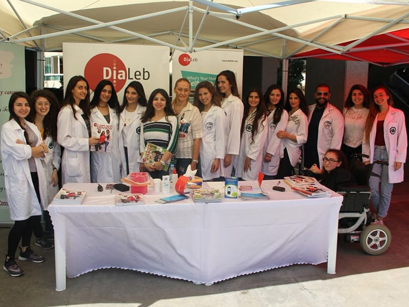DiaLeb awareness event Lebanon