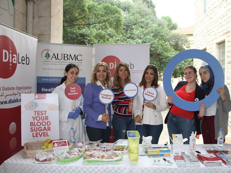 Diabetes awareness health day Lebanon