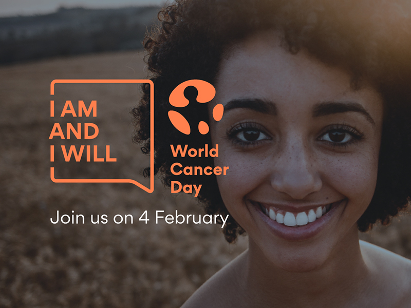 World Cancer Day campaign visual