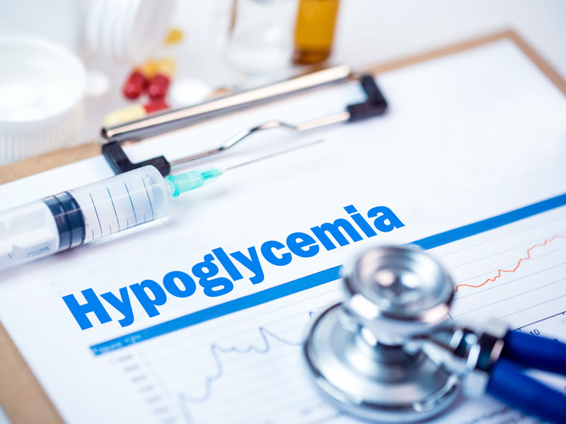 Hypoglycemia clipboard