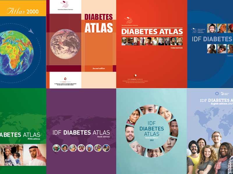 mapa mundial de diabetes tipo 2