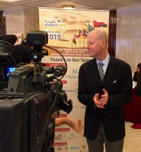 Oman National Television Interviews Armstrong