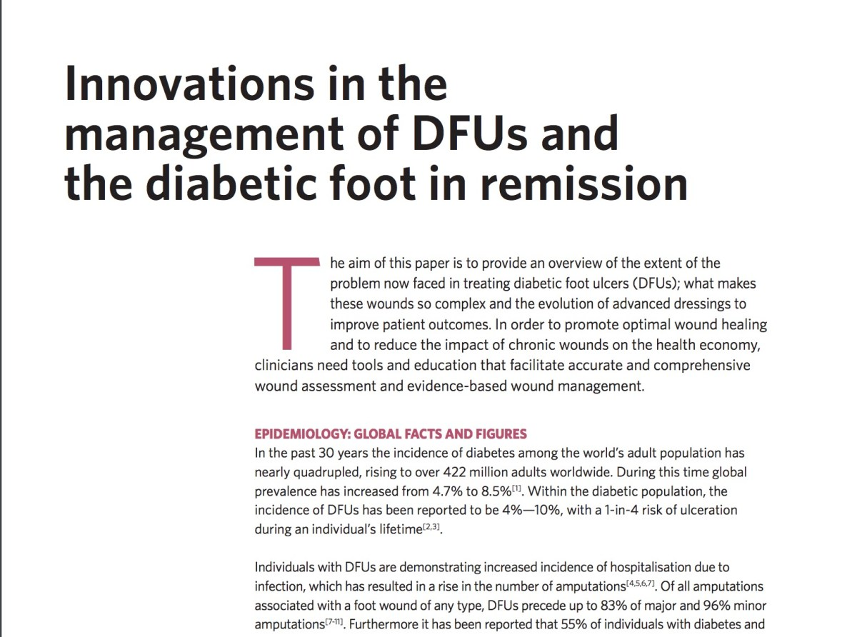 Download: The World Union of Wound Healing Society Position Statement on The Diabetic Foot- Healing and Remission