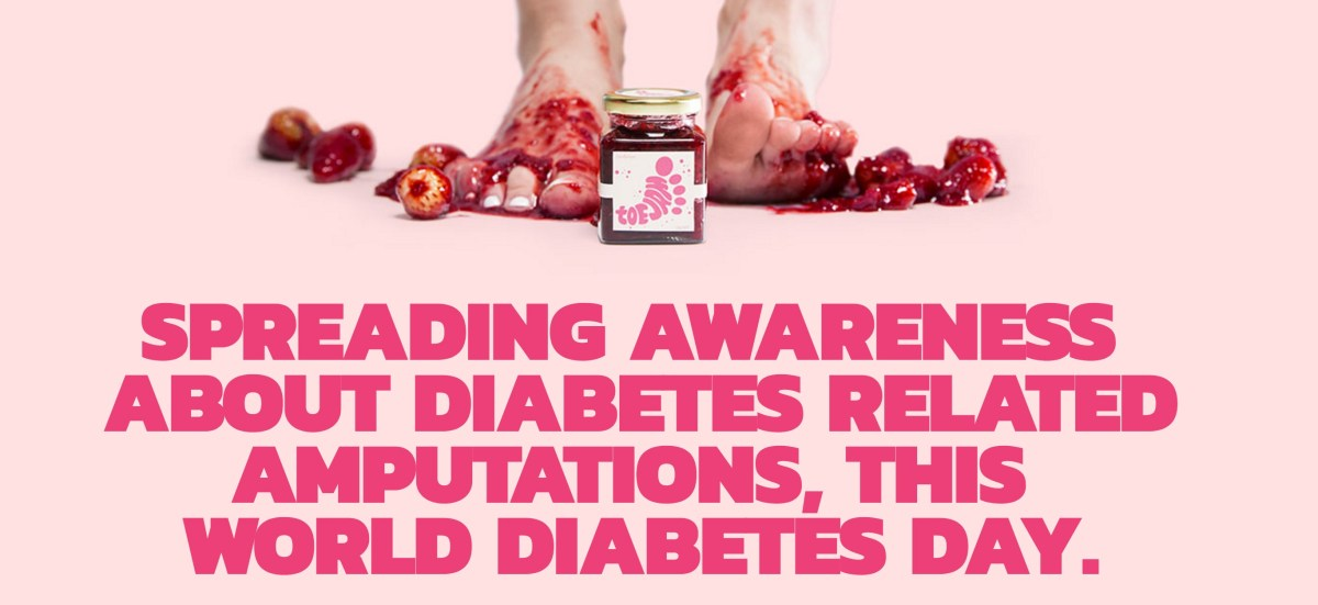 #ToeJam: Sweetness for the Diabetic Sole #WorldDiabetesDay