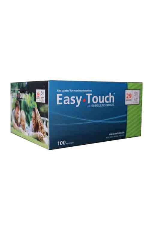 EasyTouch Insulin Syringe 29g 1.2 in 0.5cc