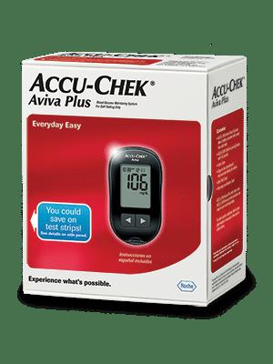 Accu Chek Aviva Plus Glucose Meter Kit Diabetic Outlet