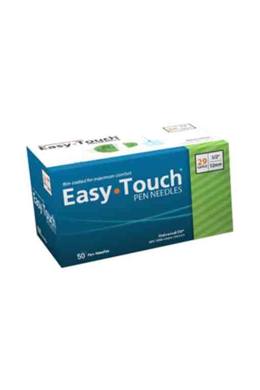 easytouch pen needle 50 count 29g 1
