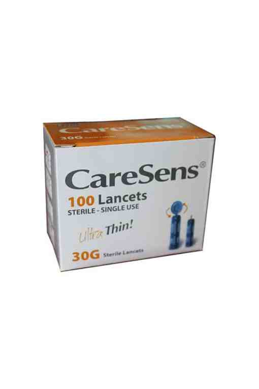 CARESENS LANCETS 30G 100ct.