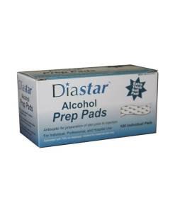 DIASTAR ALCOHOL PREP PADS 100ct.